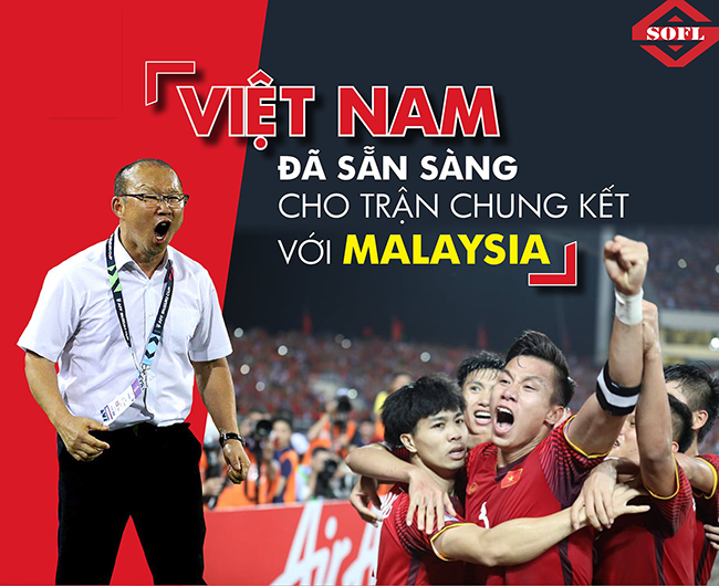 Chung kết AFF Cup 2018 giữa Việt Nam - Malaysia