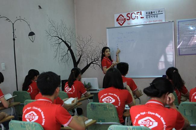 Lớp luyện thi jlpt n5 tại trung tâm tiếng nhật SOFL