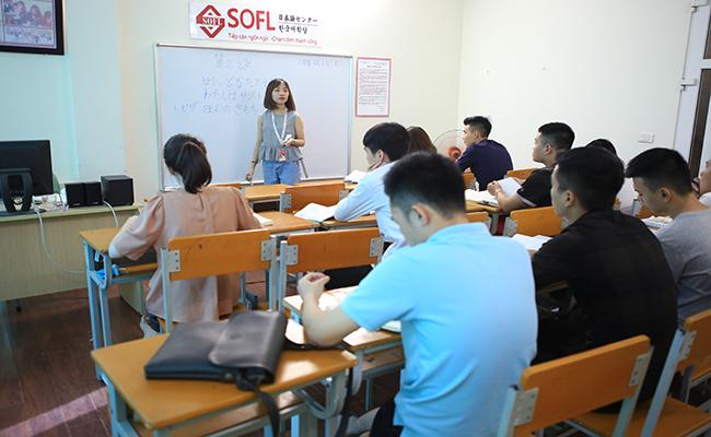 Khóa học tiếng Nhật N3 tại Trung tâm Nhật ngữ SOFL