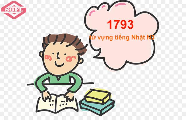 1793 từ vựng tiếng Nhật JLPT N3